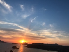 Sunset in Poseidon Temple