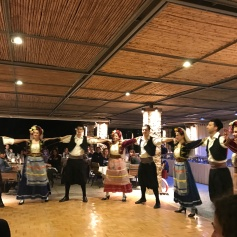 Greek traditional dance